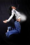 Dançarino afro-americano Imagem de Stock