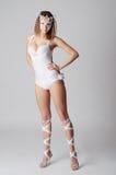 Dançarino artístico Fotografia de Stock Royalty Free