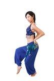 Dançarino asiático Foto de Stock Royalty Free