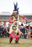 Dançarino asteca Foto de Stock Royalty Free