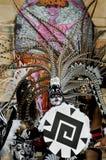 Dançarino asteca Fotografia de Stock