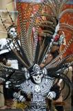 Dançarino asteca Foto de Stock