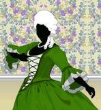 Dançarino barroco Foto de Stock
