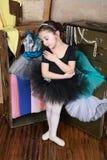 Dançarino bonito foto de stock