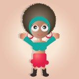 Dançarino bonito Imagem de Stock