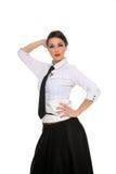 Dançarino bonito da menina Imagem de Stock