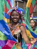 Dançarino bonito no carnaval de Notting Hill Imagens de Stock