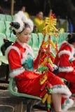 Dançarino chinês Charming Imagem de Stock