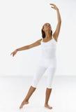 Dançarino clássico na postura Imagens de Stock