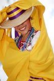 Dançarino consideravelmente mexicano Imagem de Stock Royalty Free