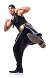 Dançarino da batida Imagens de Stock