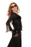 Dançarino da beleza foto de stock royalty free