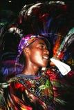 Dançarino da dança popular brasileira Imagens de Stock Royalty Free