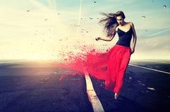 Dançarino da elegância fotografia de stock