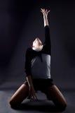 Dançarino da mulher de RnB imagens de stock royalty free