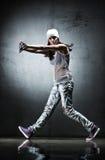 Dançarino da mulher nova fotografia de stock royalty free