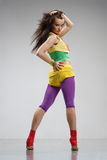 Dançarino da reggae Fotos de Stock Royalty Free