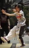 Dançarino da rua Imagem de Stock Royalty Free