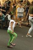 Dançarino da rua foto de stock