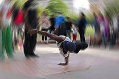 Dançarino da ruptura foto de stock
