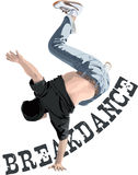 Dançarino da ruptura Imagens de Stock
