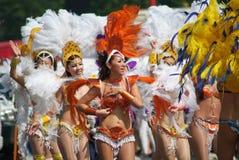 Dançarino da samba imagem de stock