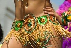Dançarino da samba Foto de Stock Royalty Free