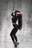 Dançarino da tira fotografia de stock royalty free