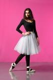 Dançarino de bailado Imagem de Stock Royalty Free