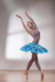 Dançarino de bailado bonito Imagens de Stock Royalty Free