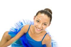 Dançarino de bailado bonito Fotografia de Stock