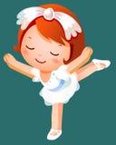 Dançarino de bailado da menina Fotografia de Stock