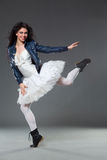 Dançarino de bailado da rocha Imagens de Stock Royalty Free