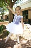 Dançarino de bailado novo ao ar livre Foto de Stock Royalty Free