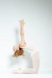 Dançarino de bailado. Trem no estúdio. imagens de stock royalty free