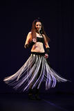 Dançarino de barriga Imagens de Stock Royalty Free