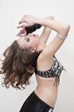 Dançarino de barriga Foto de Stock