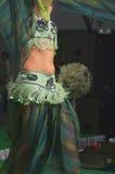 Dançarino de barriga Fotografia de Stock
