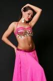 Dançarino de barriga bonito imagem de stock