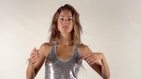 Dançarino de Beautfiul vídeos de arquivo
