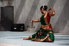 Dançarino de Bharata Natyam Imagem de Stock Royalty Free