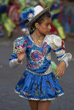 Dançarino de Caporales - Arica, o Chile Imagens de Stock