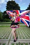 Dançarino de Equador Foto de Stock