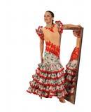 Dançarino de Flamenko Foto de Stock Royalty Free