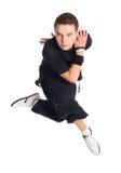 Dançarino de Hip-hop Fotografia de Stock Royalty Free