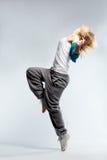 Dançarino de Hip-hop fotografia de stock