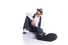 Dançarino de Hip Hop Fotos de Stock