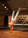 Dançarino de hip-hop do estilo livre Fotos de Stock