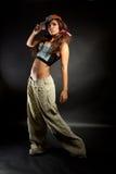 Dançarino de Hiphop Foto de Stock