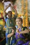 Dançarino de India fotografia de stock